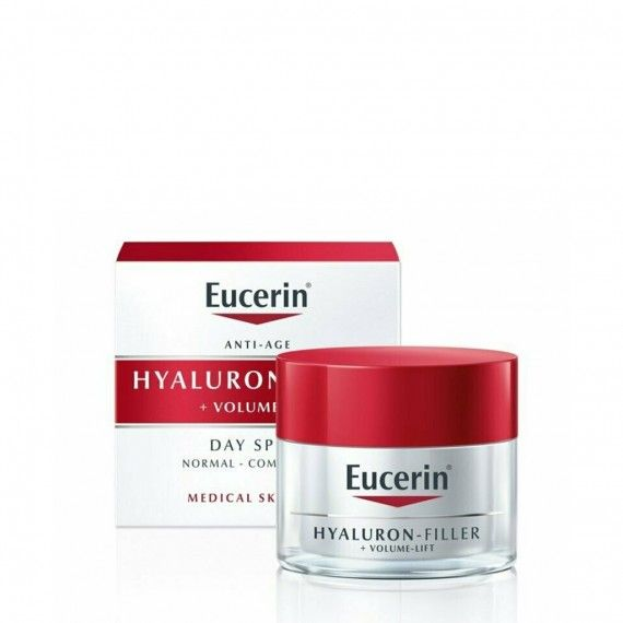 Eucerin Hyaluron-Filler + Volume Lift Dia Pele Normal/Mista 50 ml