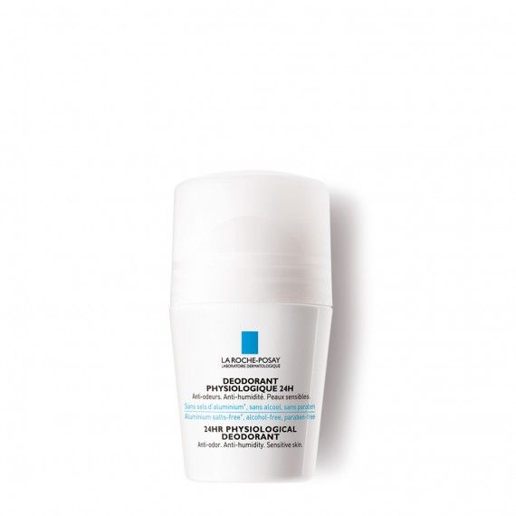 La Roche-Posay Desodorizante Fisiológico 24hr* Roll-On 50 ml