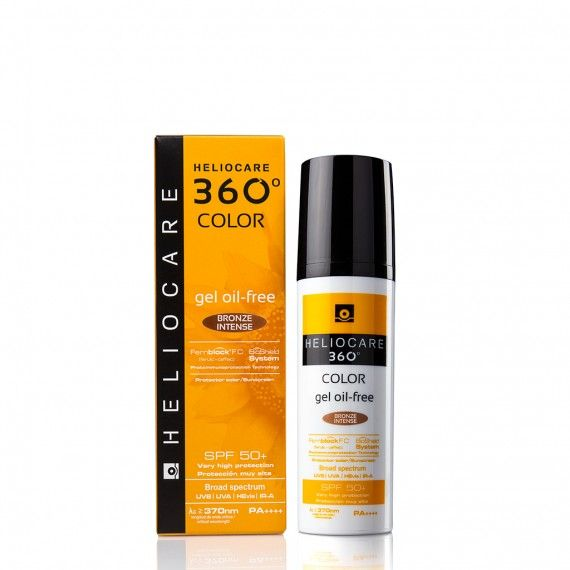 Heliocare 360º Color Gel Oil Free Bronze Intense SPF50+ 50 ml