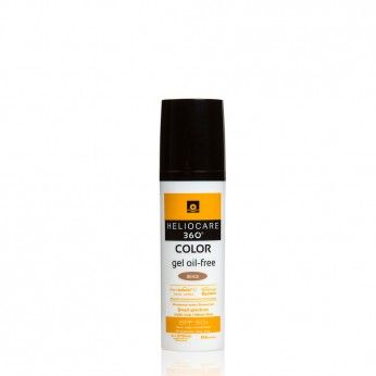 Heliocare 360º Color Gel Oil Free bege SPF50+ 50 ml