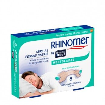 Rhinomer by Breathe Right Mentoladas Grandes x8