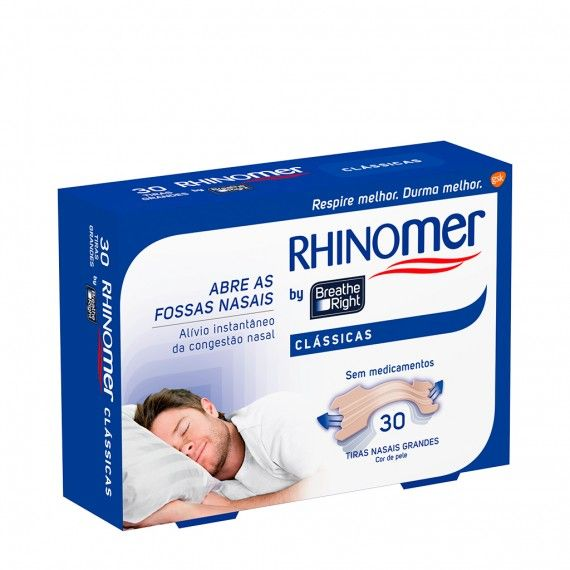 Rhinomer by Breathe Right Clássicas Grandes x30