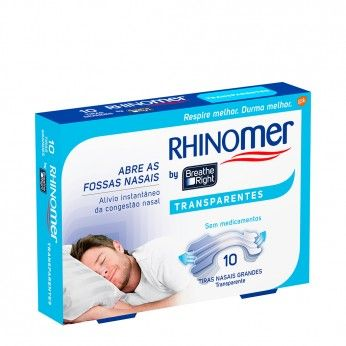 Rhinomer by Breathe Right Transparentes Grandes x10