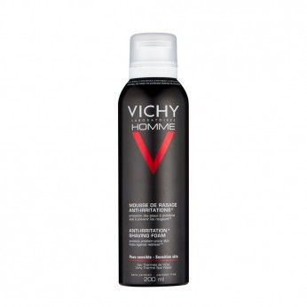 Vichy Homme Mousse de Barbear Anti-irritações 200 ml