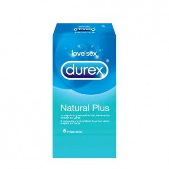 Durex Natural Plus 6 Preservativos