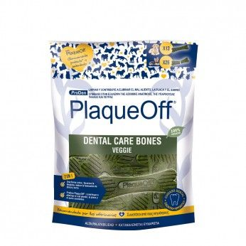 PlaqueOff Dental Care Bones Cães 485 g