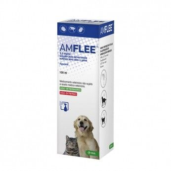 Amflee 2,5 mg/ml Cães e Gatos 100 ml