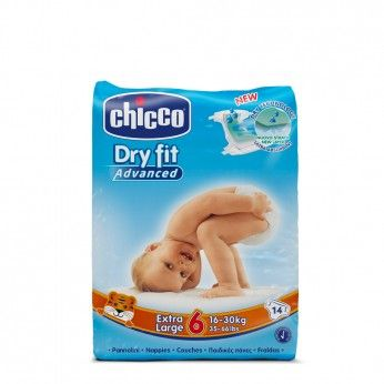 Chicco Dry Fit Advanced T6 16-30 kg 14 Fraldas
