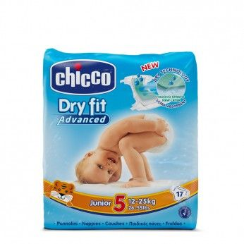 Chicco Dry Fit Advanced T5 12-25 kg 17 Fraldas