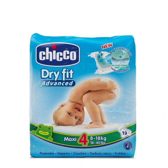 Chicco Dry Fit Advanced T4 8-18 kg 19 Fraldas