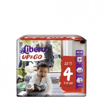 Libero UP&GO Diapers Size 4 22 pcs
