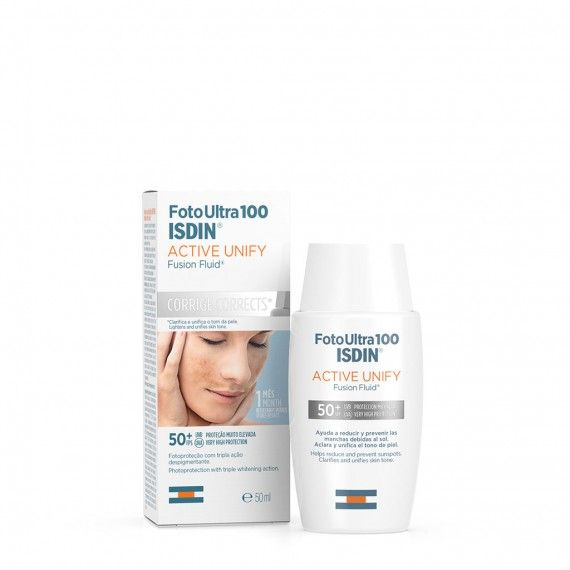 Isdin Fotoultra 100 Active Unify Fusion Fluid SPF50+