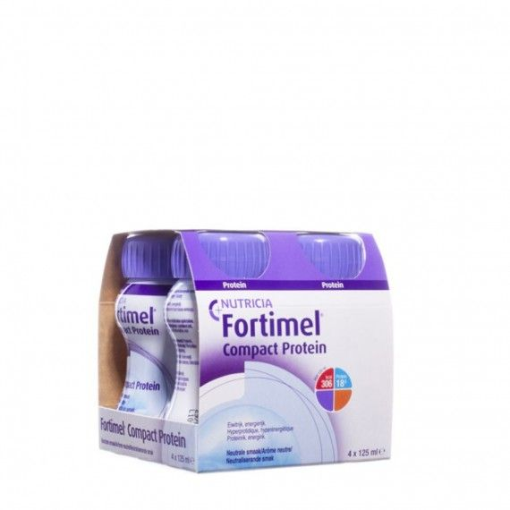 Fortimel Compact Protein Neutro Pack 4
