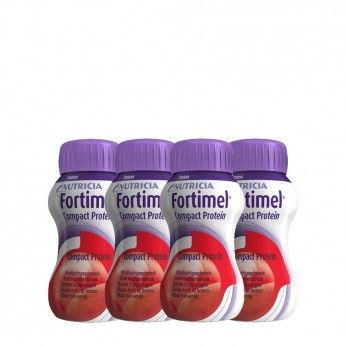 Fortimel Compact Protein Frutos Vermelhos Pack 4